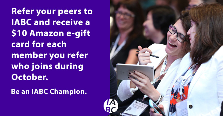 Be a Champion: Join the IABC Member Month Drive for Growth!