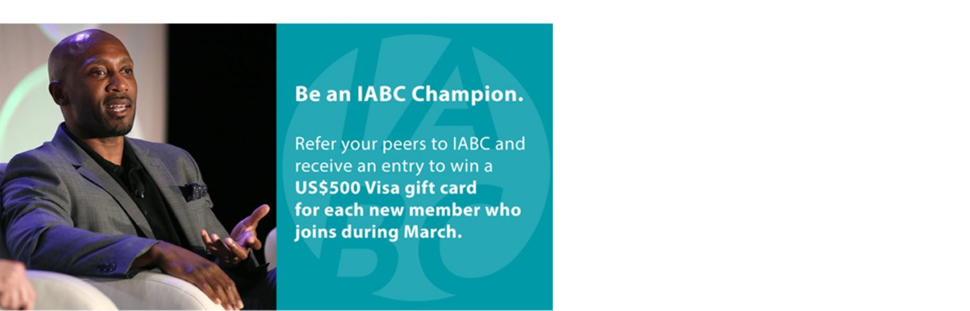 Be An IABC VIP—March is Member Month!