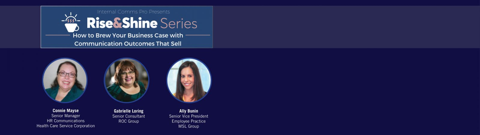 FREE WORKSHOP 2/26: How to Brew Your Business Case with Communication Outcomes That Sell